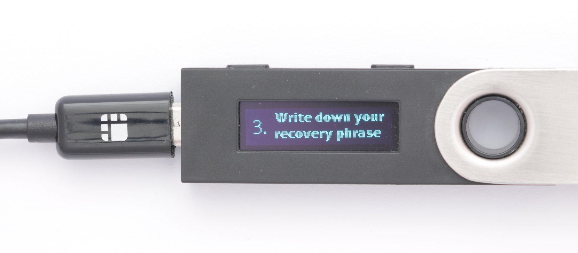 Nano ledger digibyte