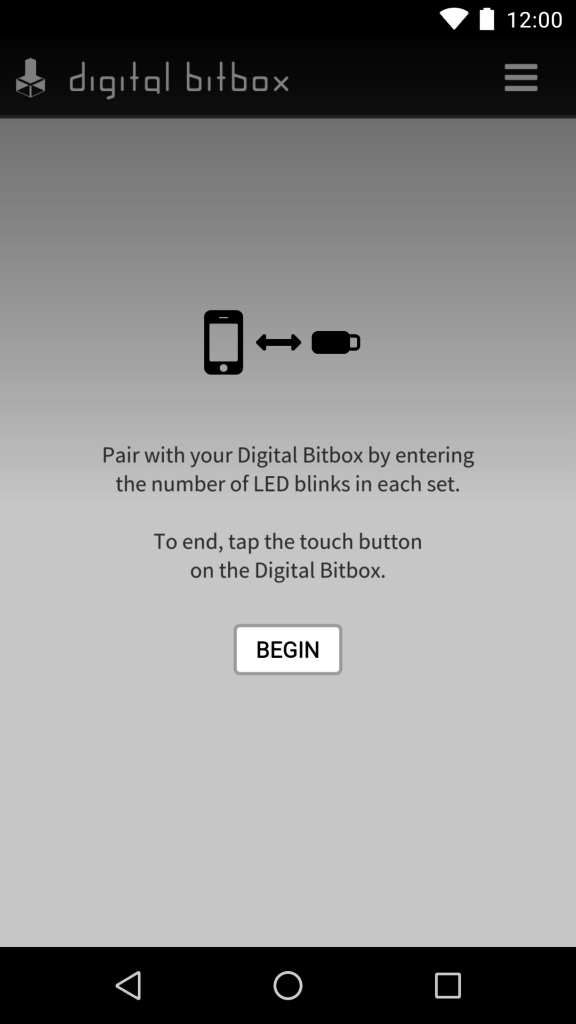 Digital Bitbox App Connection Pairing Android 2