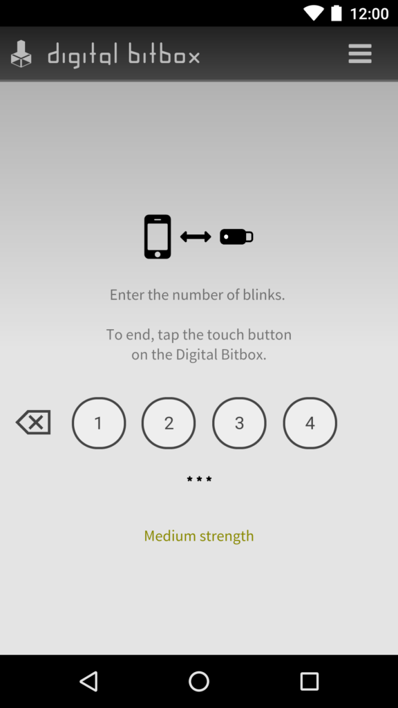 Digital Bitbox App Connection Pairing Android 3