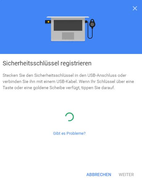 Digital Bitbox U2F google