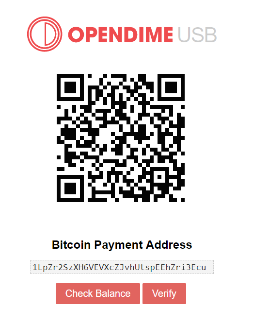 Opendime facility completed