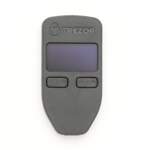 TREZOR Cardboard Delivery hardware wallet Hardware Wallet Front