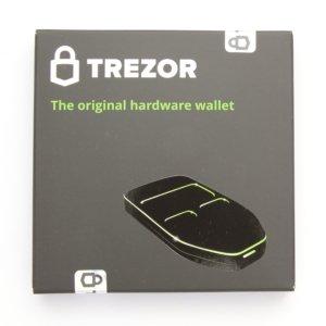 TREZOR Cardboard front