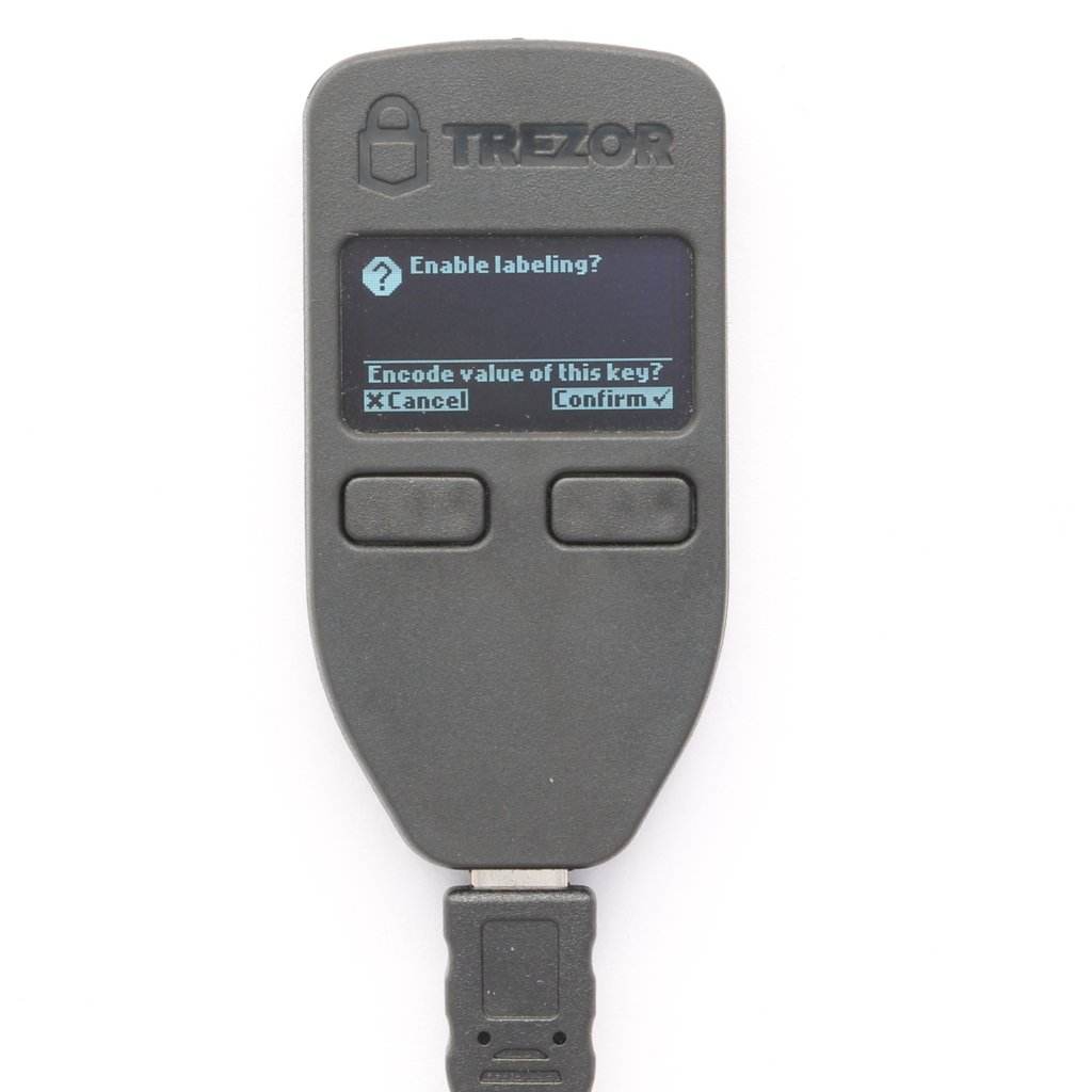 TREZOR with Dropbox Hardware hardware wallets