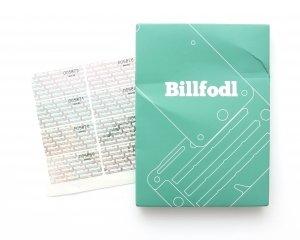 BILLFODL packaging Front Side