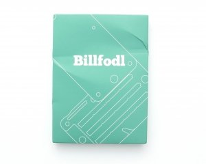 BILLFODL packaging front side without Seigel