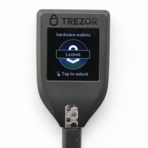 TREZOR T is locked
