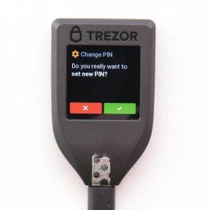 TREZOR Change T Pin