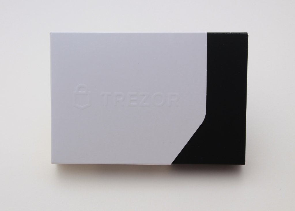 TREZOR T Packaging closed