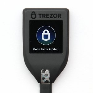 TREZOR T Continue on trezor.io/start