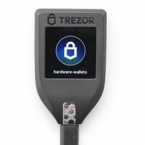 TREZOR T unlocked