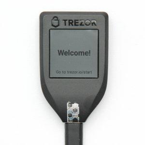 TREZOR Model T welcome