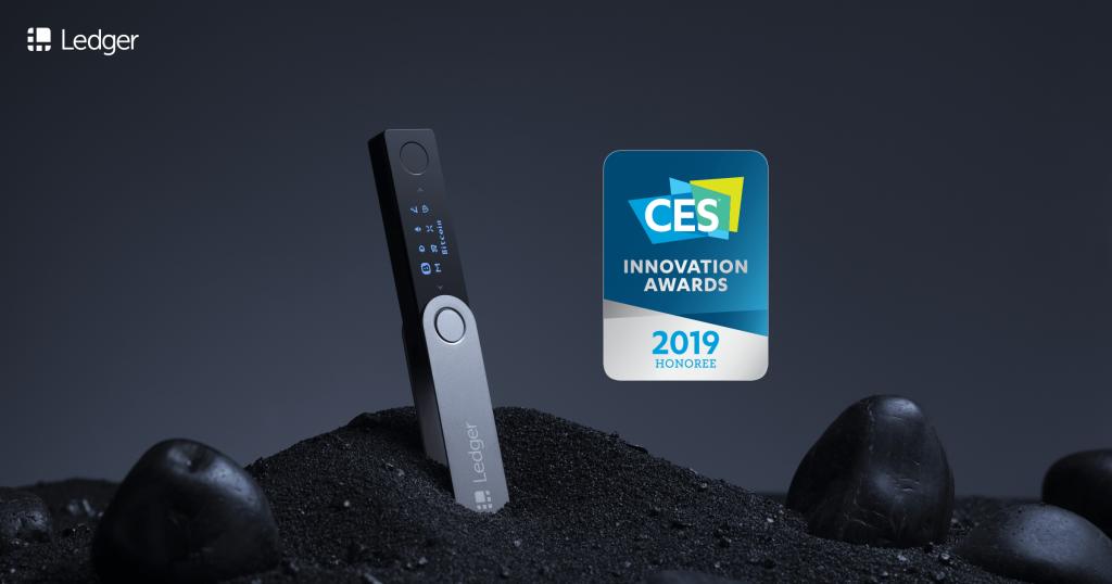 Ledger Nano X Ces Award