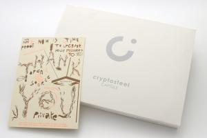 Cryptosteel Capsule Packaging